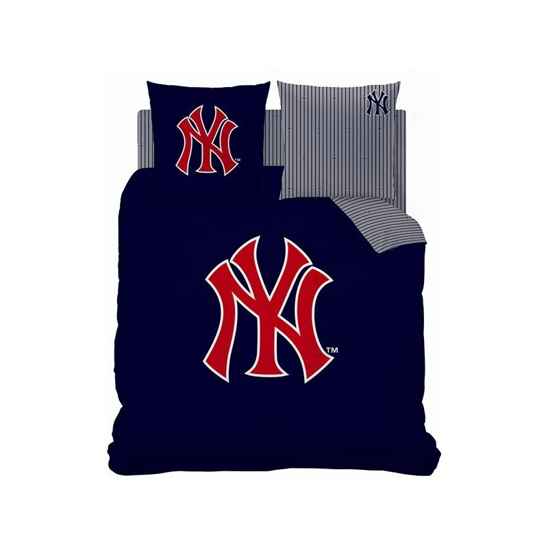 Housse de couette new york yankees double 200x200 for Parure de lit 200x200