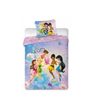 """Parure de lit Disney Fairies """"Friends"""" 140x200 cm"""