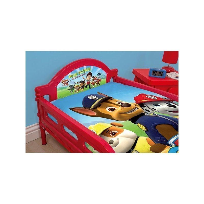 lit enfant pat patrouille 70x140 junior. Black Bedroom Furniture Sets. Home Design Ideas