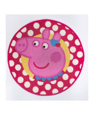 Tapis de sol Peppa Pig Tweet 67x67 cm