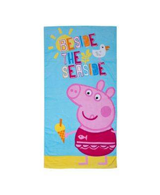 Serviette de bain Peppa Pig Ocean 70x140 cm