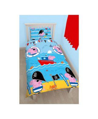 Parure de lit Peppa Pig - George Pirate