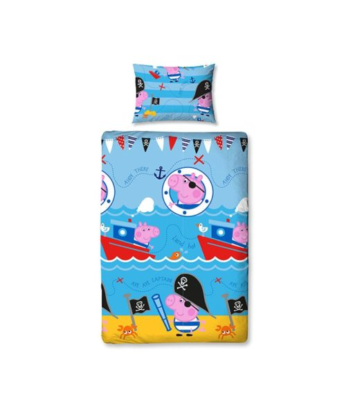 housse de couette Peppa Pig - George Pirate