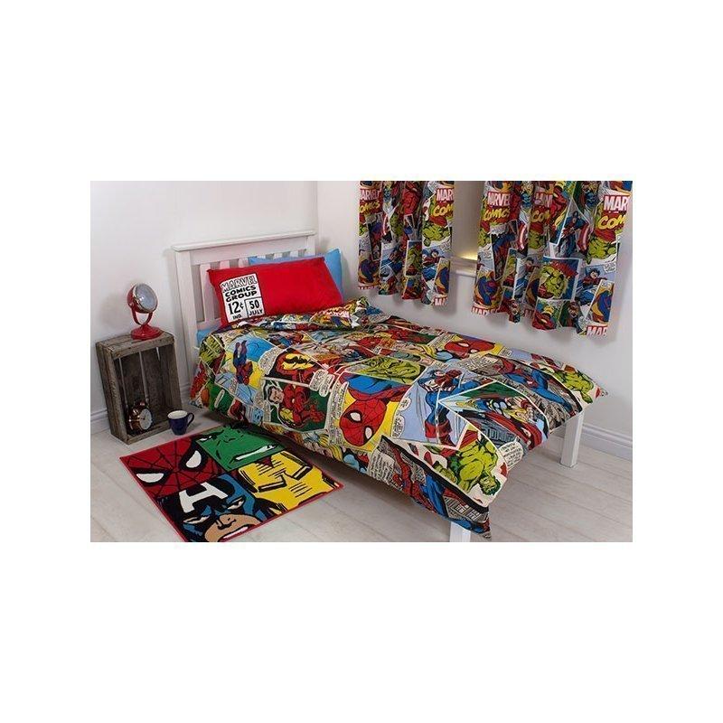 Rideau Marvel Comics Pour Chambre Enfant Spidermna