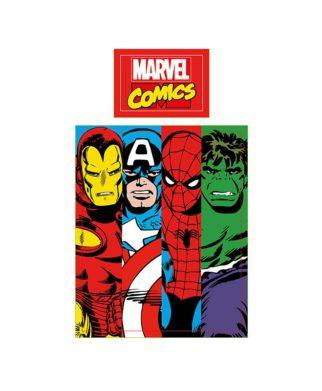 housse de couette junior Marvel Comics Clash 120x150 cm