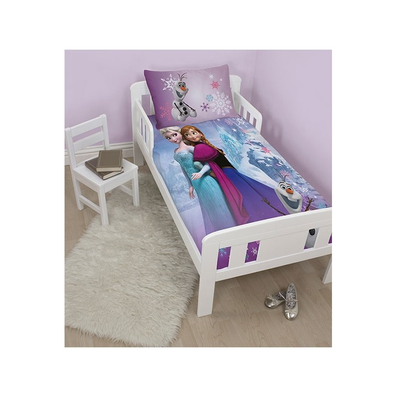 parure de lit junior reine des neiges pour enfant 120x150