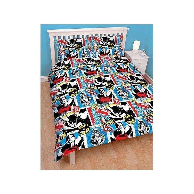 housse de couette batman pour lit double 200x200. Black Bedroom Furniture Sets. Home Design Ideas