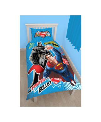 Parure de lit Batman vs Superman Clash pour lit simple