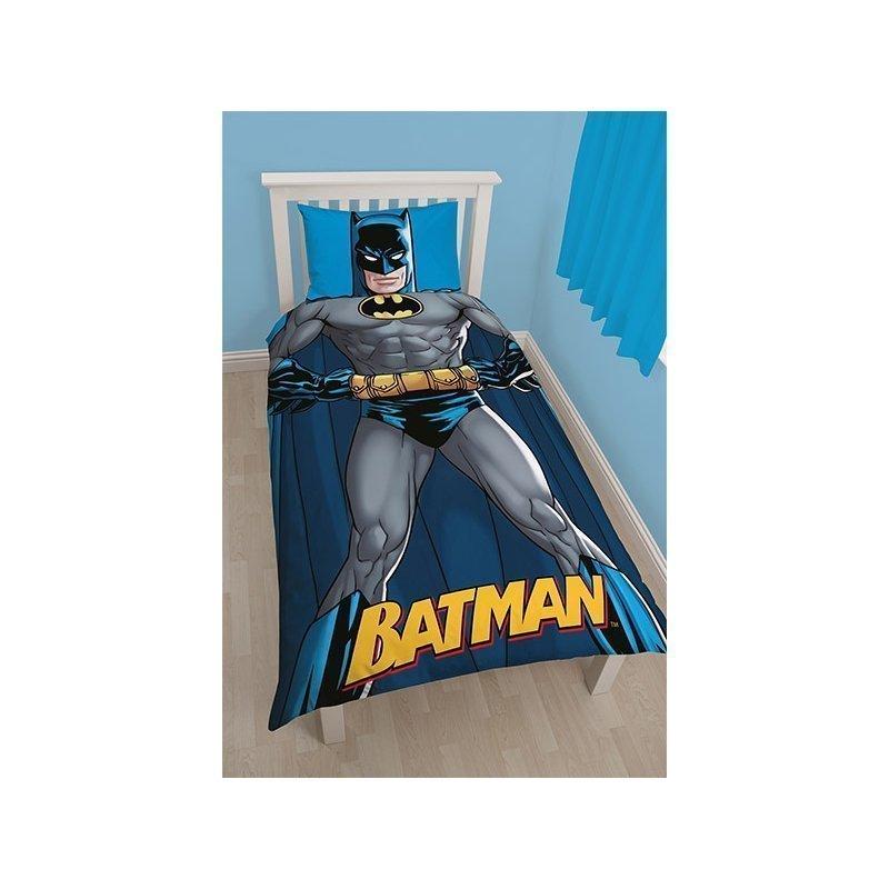 batman couette pour lit simple enfant 140x200. Black Bedroom Furniture Sets. Home Design Ideas