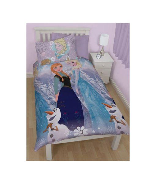 Parure de lit La Reine des Neiges Elsa & Anna