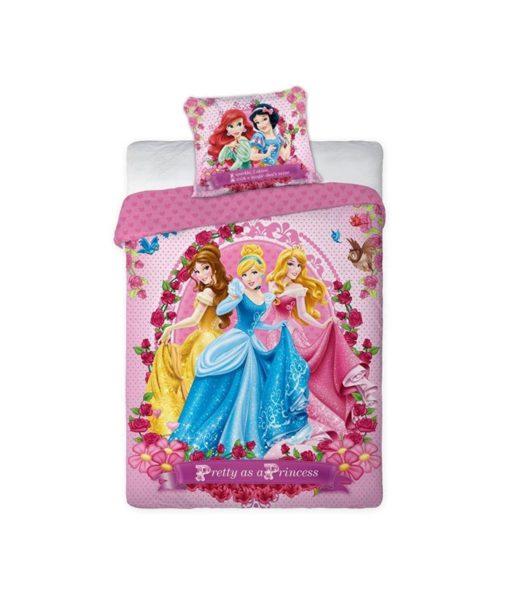 Parure de lit Princesses Disney Pretty - 100% coton