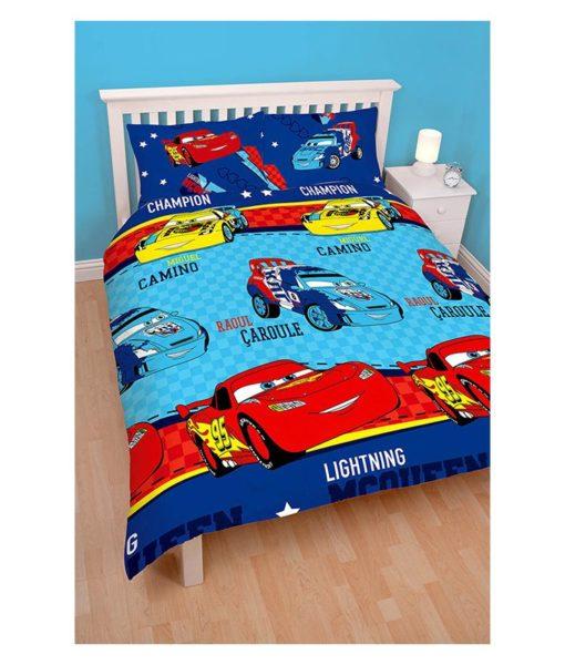Parure de lit Cars Piston pour lit double