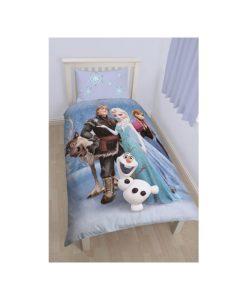 """Parure de lit Reine des Neiges """"Stellar"""" pour 1 personne"""