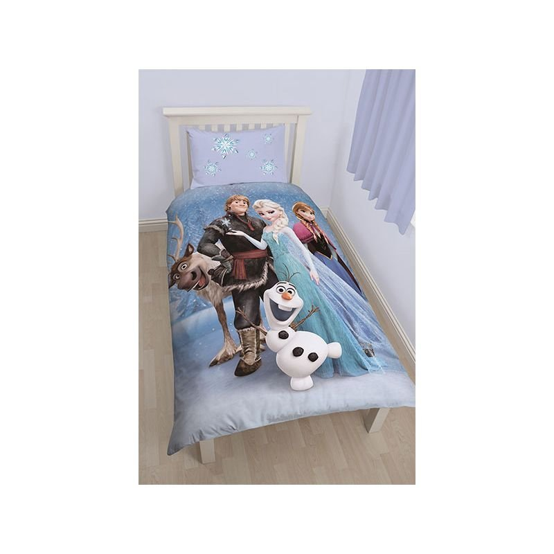 housse de couette reine des neiges stellar pour chambre enfant. Black Bedroom Furniture Sets. Home Design Ideas