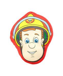Coussin tout doux Sam le Pompier 35x33 cm