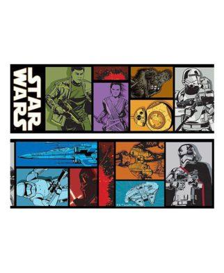 """Frise murale Star Wars """"Episode VII"""" - 10,6cm x 5 mètres"""