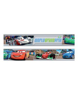 Frise murale Disney Cars 2 - 10,6cm x 5 mètres