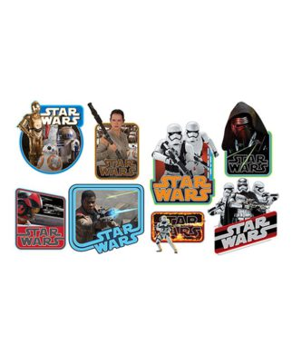 8 stickers muraux Star Wars - Episode VII