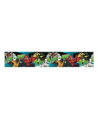 """Frise murale Spiderman """"Team Up"""" - 10,6cm x 5 mètres"""