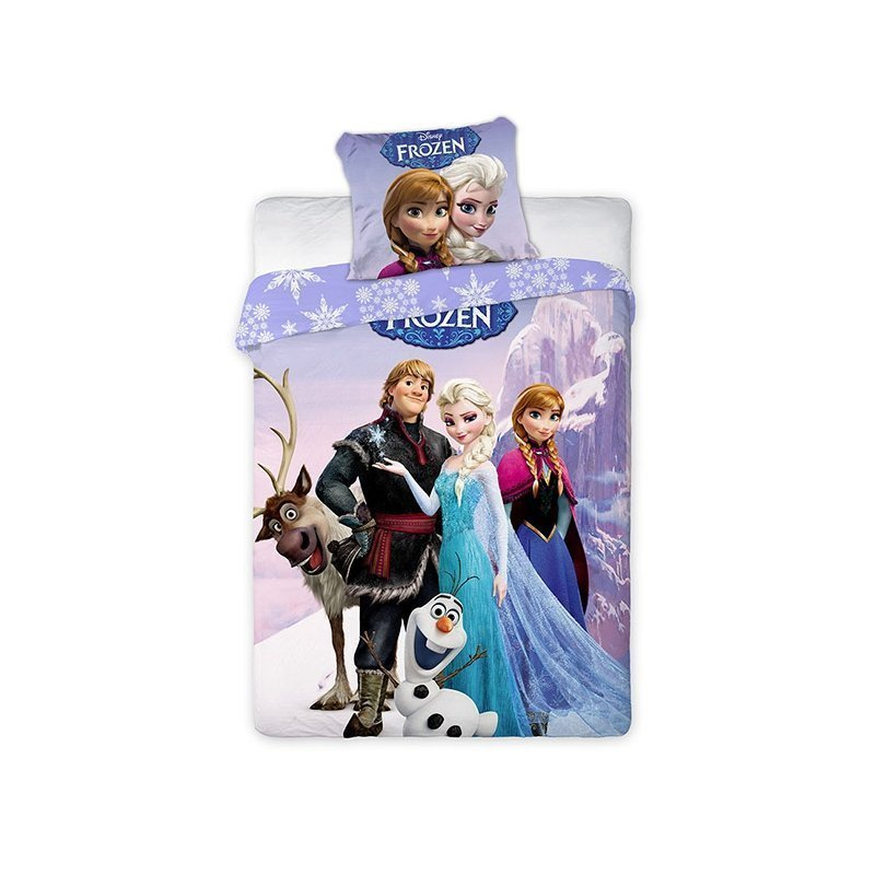 housse de couette enfant frozen reine des neiges. Black Bedroom Furniture Sets. Home Design Ideas