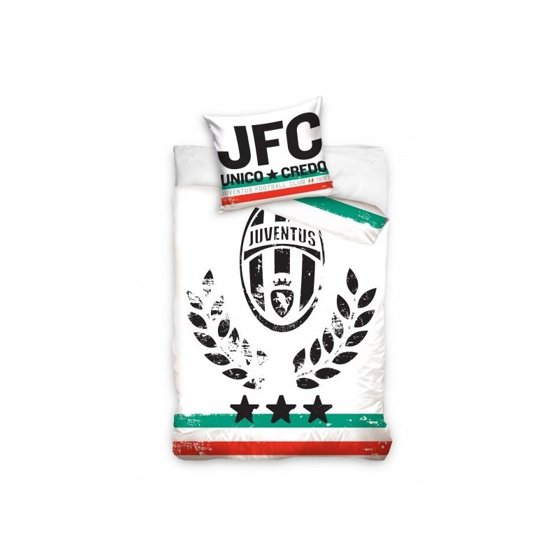 Parure de lit juventus pour chambre d co football for Decoration murale juventus