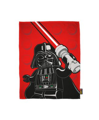 "Couverture polaire Lego Star Wars ""Space"" 120x150 cm"
