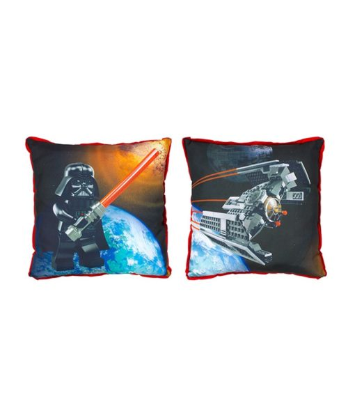 Coussin réversible Lego Star Wars Ships 40 x 40 cm