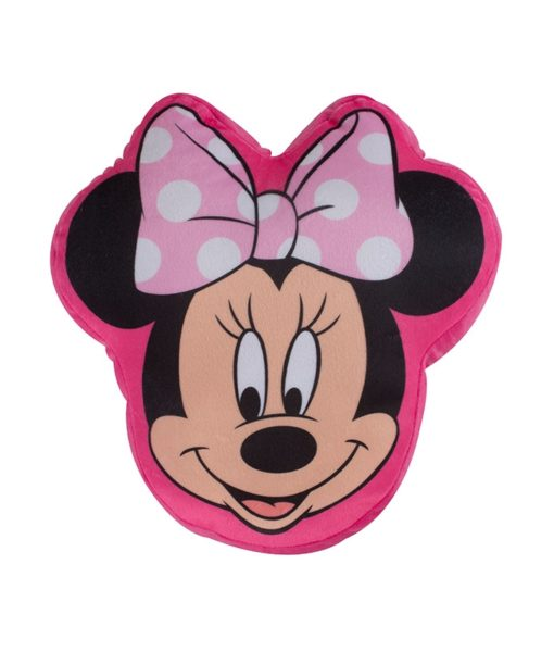 "Coussin Minnie Mouse ""Makeover"" 34x33 cm"