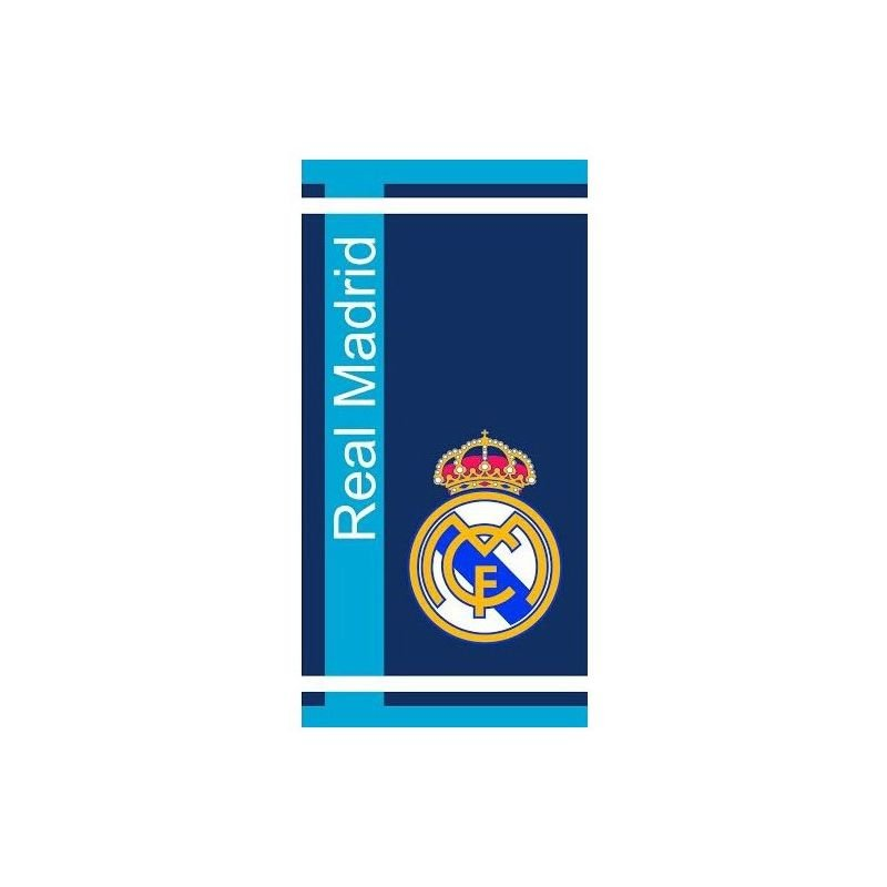 serviette de bain drap de plage real madrid football. Black Bedroom Furniture Sets. Home Design Ideas
