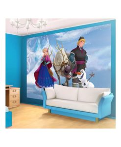 Fresque murale - Reine des Neiges - 7 dimensions disponibles