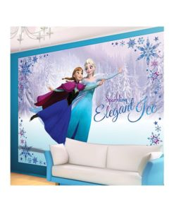 Fresque murale - Papier peint Reine des Neiges - 7 dimensions disponibles