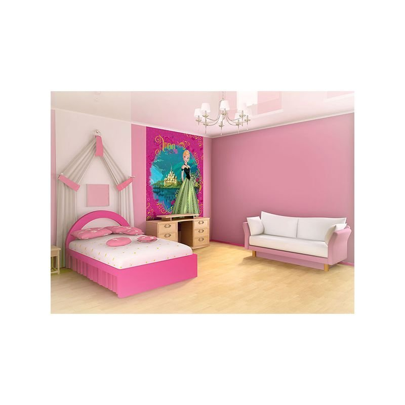 fresque murale reine des neiges disney 208x146 cm. Black Bedroom Furniture Sets. Home Design Ideas
