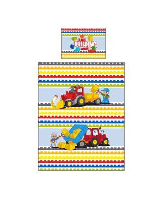 housse couette Lego Duplo Blocks 120x150 cm
