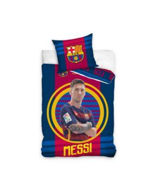 Housse de couette FC Barcelone Messi 100% coton