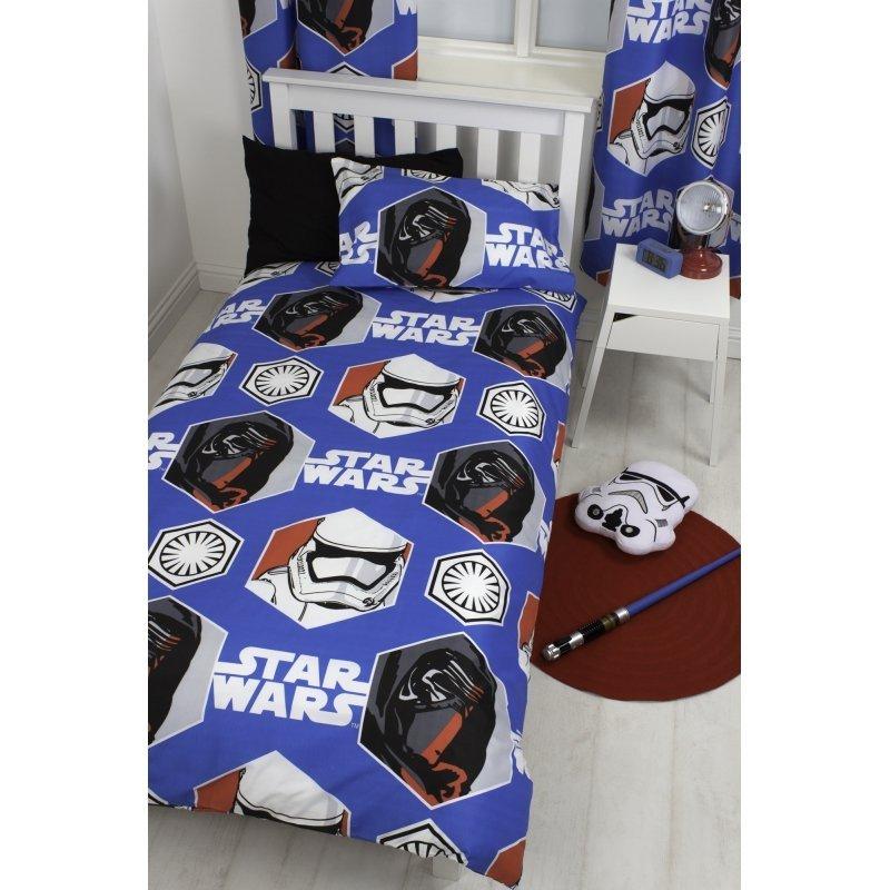 cool rideaux star wars le rveil de la force with rideau disney garcon. Black Bedroom Furniture Sets. Home Design Ideas