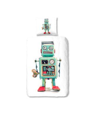 Housse de couette grand robot - 100% coton