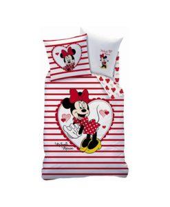 Mickey parure de lit minnie housse de couette enfant - Housse de couette mickey et minnie personnes ...