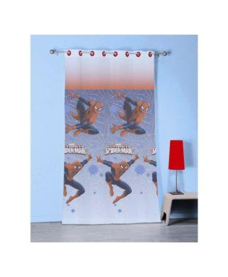 Voilage Spiderman Jump 140x240 cm