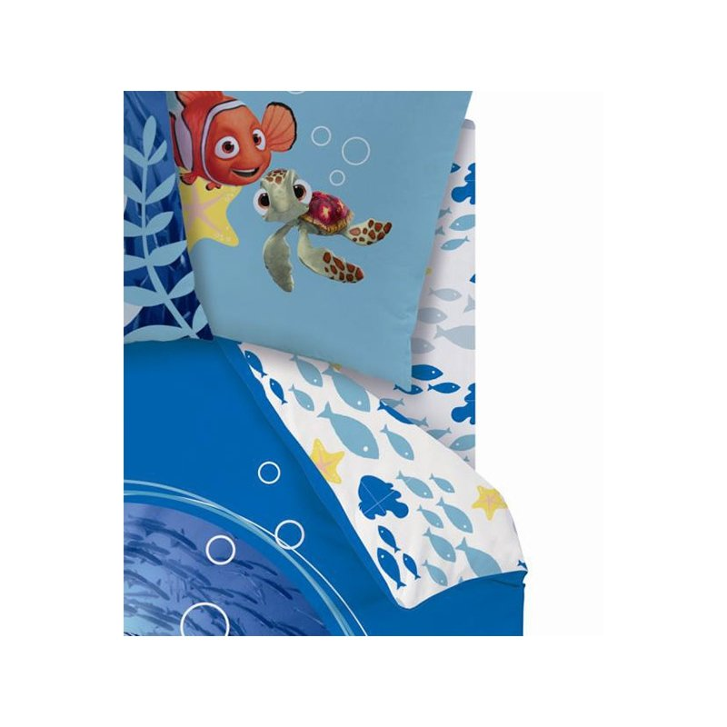 drap housse disney nemo et dory pour lit enfant. Black Bedroom Furniture Sets. Home Design Ideas