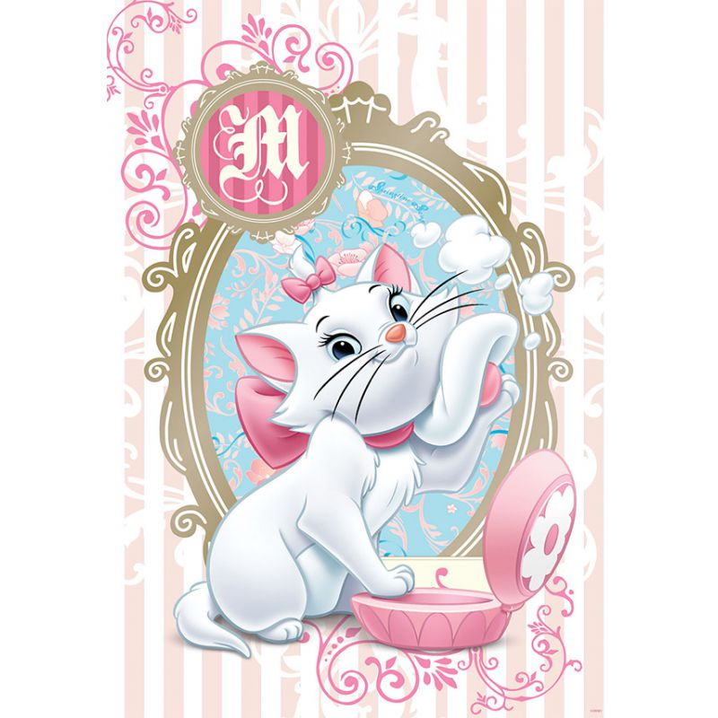 fresque murale disney marie aristochats 5 dimensions disponibles - Aristochats Marie