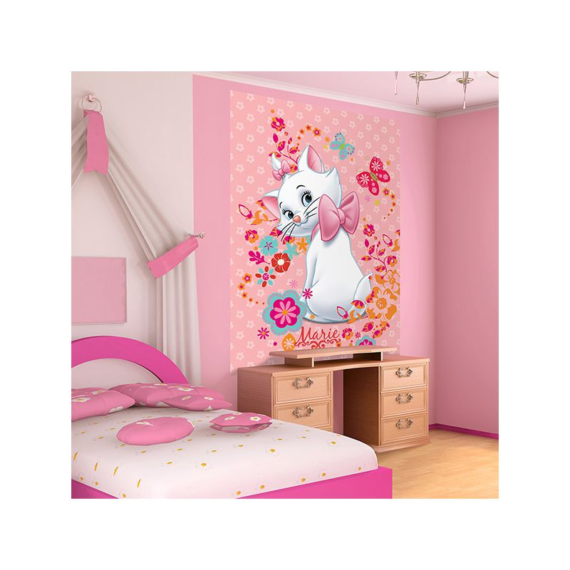 papier peint marie aristochats 219x312 cm chambre enfant. Black Bedroom Furniture Sets. Home Design Ideas