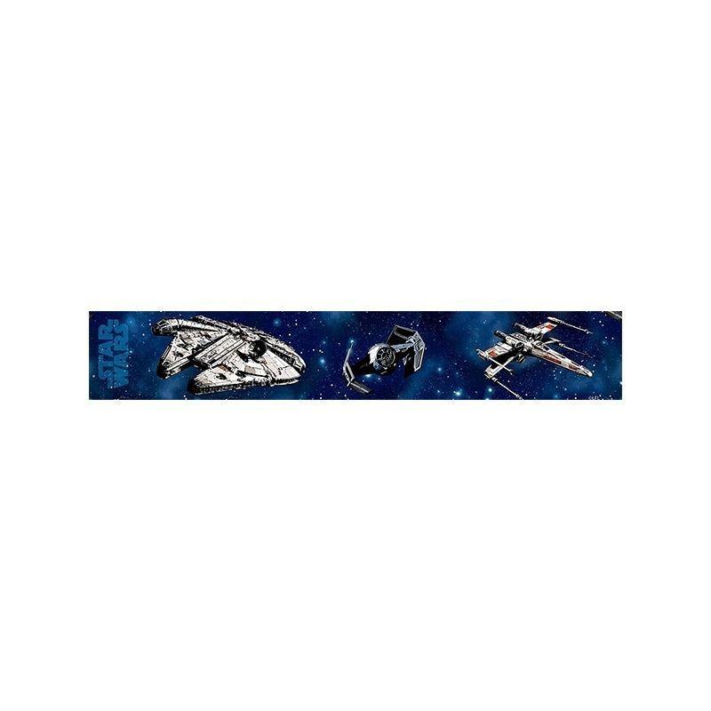 Star Wars Frise Murale Avec Vaisseaux Pour D 233 Co Chambre Enfant