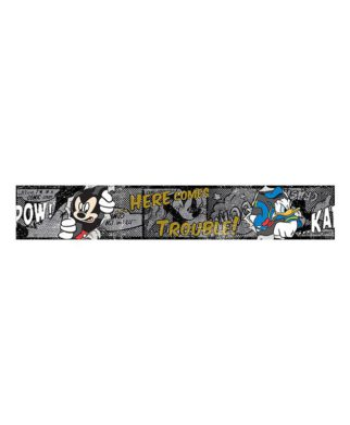 "Frise murale Mickey Mouse ""Football"" 10,6 cm x 5 mètres"