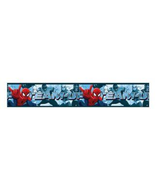 Frise murale Spiderman - 10,6cm x 5 mètres