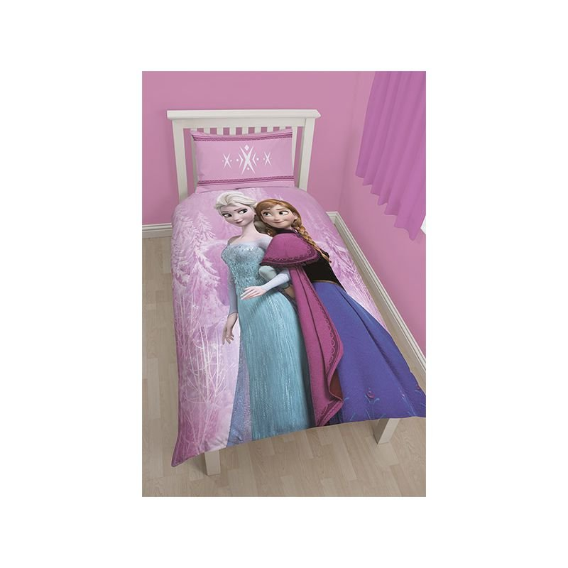 housse couette spring reine des neiges pour enfant. Black Bedroom Furniture Sets. Home Design Ideas
