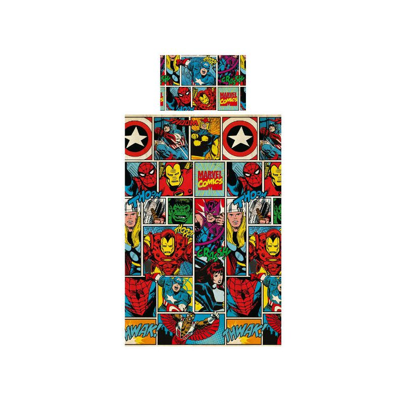housse de couette avengers maison design. Black Bedroom Furniture Sets. Home Design Ideas