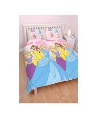 """Parure de lit double Princesses Disney """"Enchanting"""""""