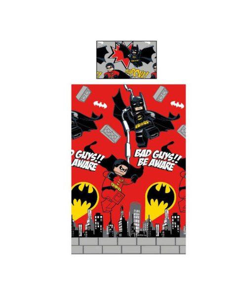 Parure de lit Lego City - Housse de couette + taie