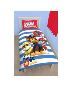 Pat patrouille parure de lit housse de couette enfant d coration linge de maison - Parure lit pat patrouille ...