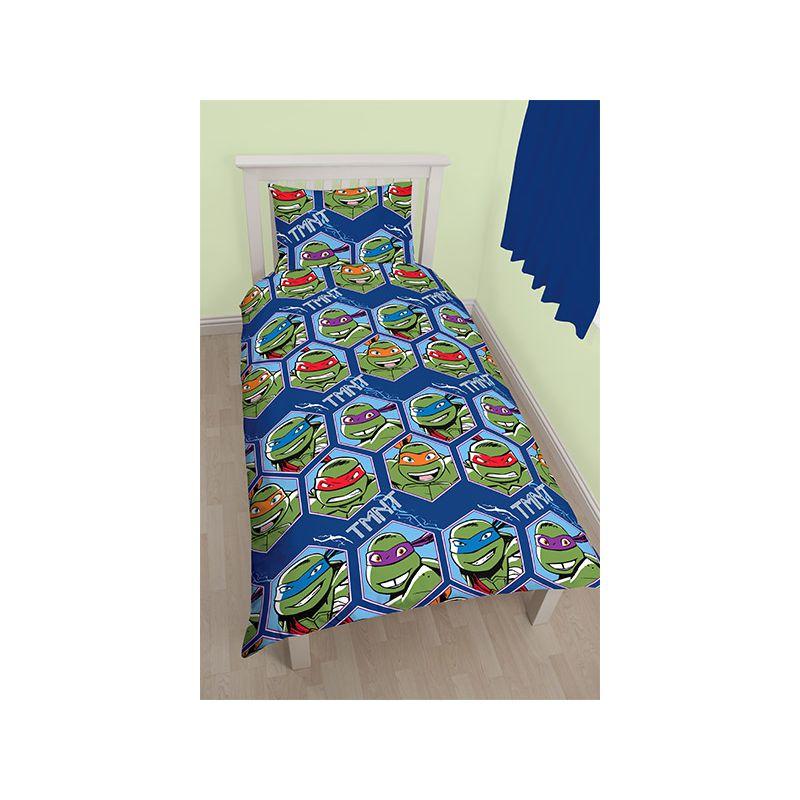 Draps de lit tortues ninja pour lit enfant for Draps de lit